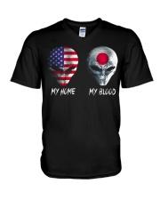 Japan V-Neck T-Shirt thumbnail