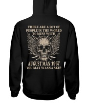 I AM A GUY 57-8 Hooded Sweatshirt back
