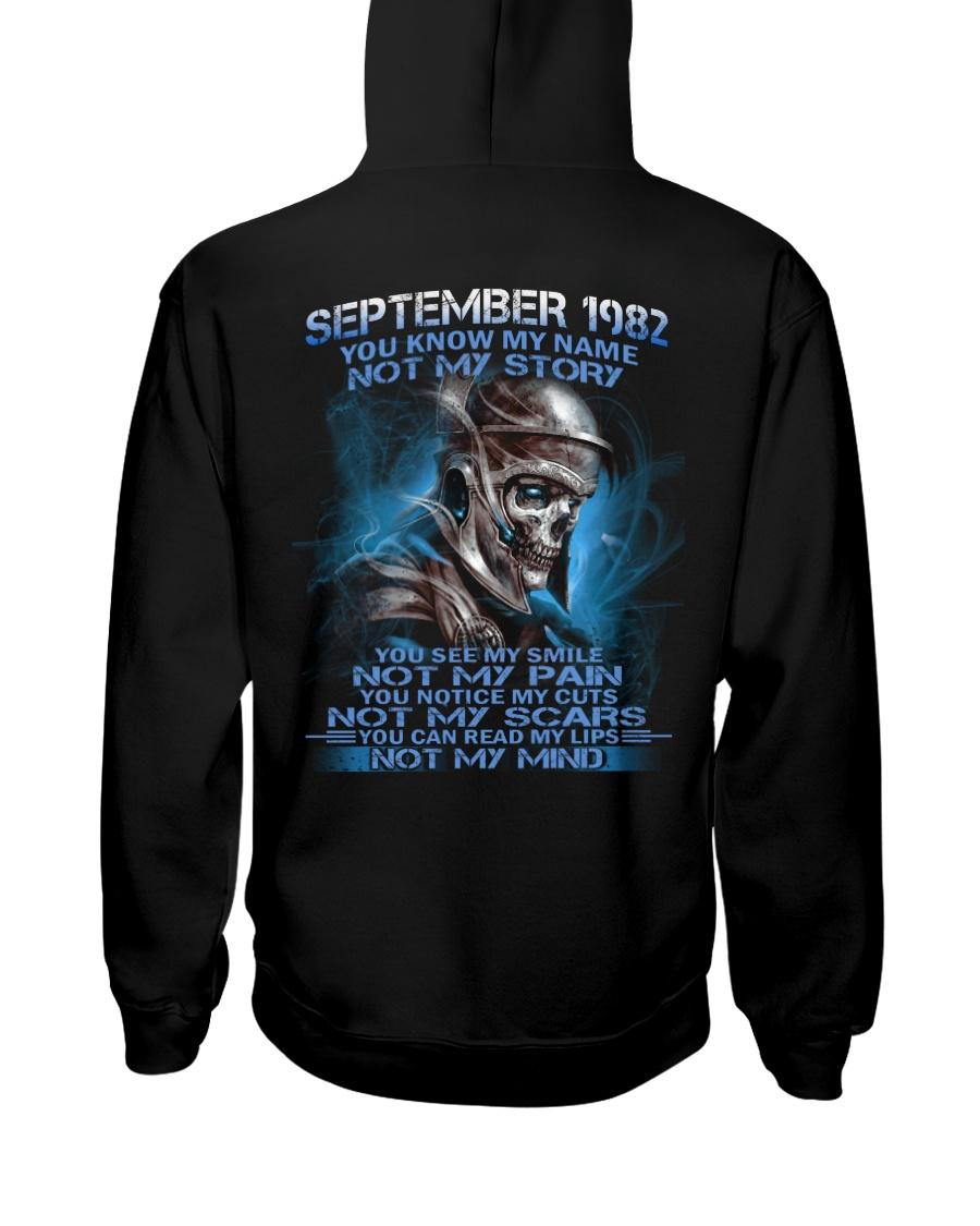 NOT MY 82-9 Hooded Sweatshirt