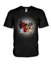 GS sheperd V-Neck T-Shirt thumbnail