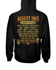 MESS WITH YEAR 63-8 Hooded Sweatshirt back