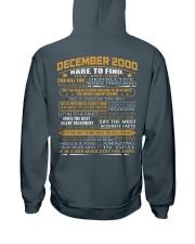 YEAR GREAT 00-12 Hooded Sweatshirt back