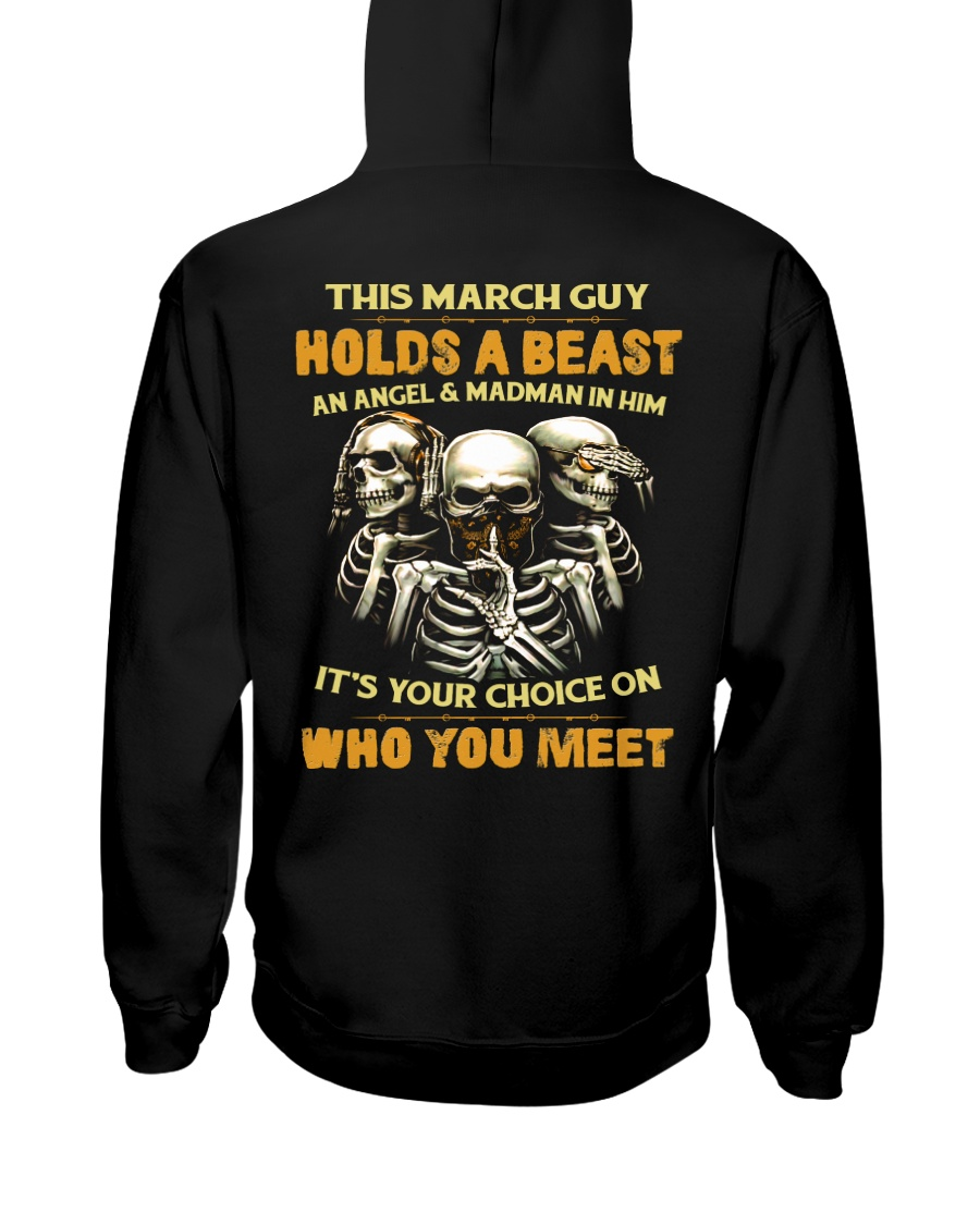 HOLDS A BEAST 3 Hooded Sweatshirt