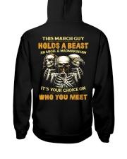 HOLDS A BEAST 3 Hooded Sweatshirt back