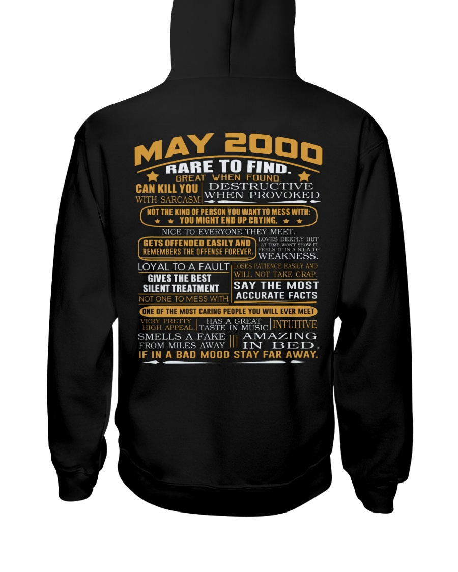 YEAR GREAT 00-5 Hooded Sweatshirt