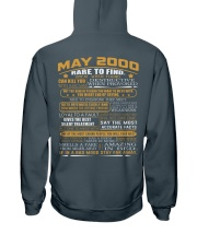 YEAR GREAT 00-5 Hooded Sweatshirt back