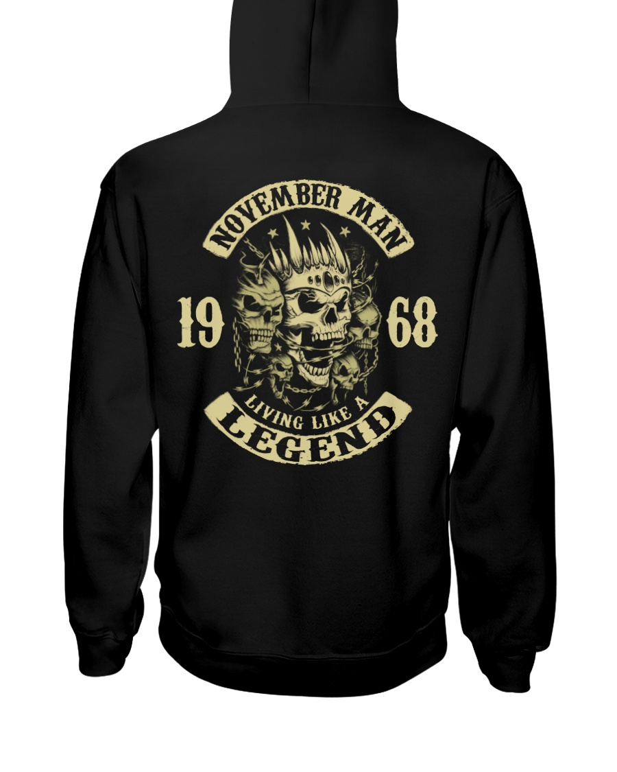 MAN 1968-11 Hooded Sweatshirt