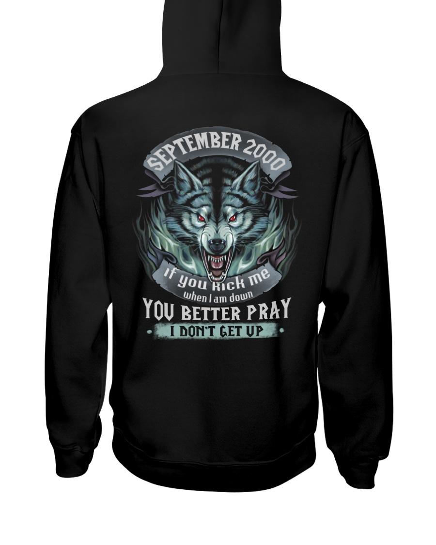 BETTER GUY 00-9 Hooded Sweatshirt