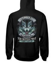BETTER GUY 00-9 Hooded Sweatshirt back