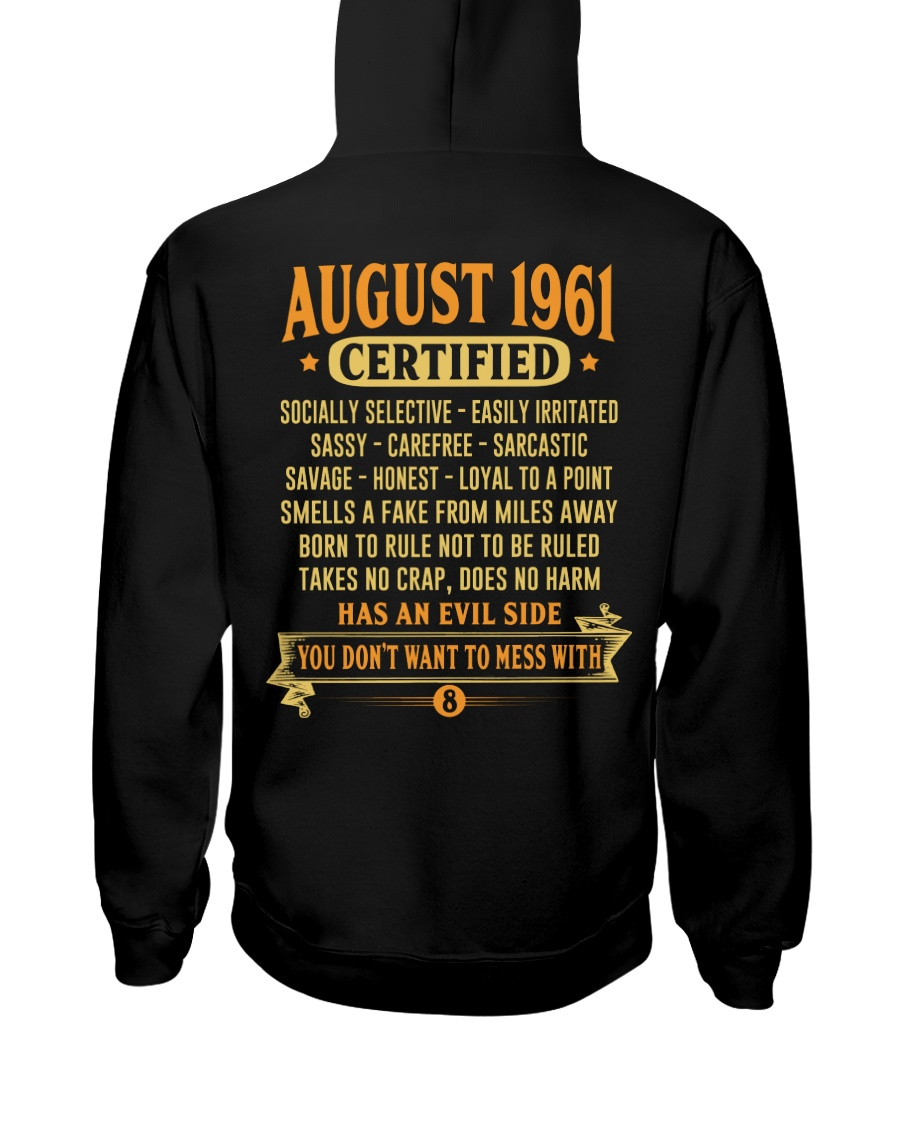 MESS WITH YEAR 61-8 Hooded Sweatshirt