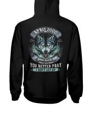BETTER GUY 00-4 Hooded Sweatshirt back