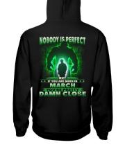 NOBODY MONTH 3 Hooded Sweatshirt back