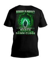 NOBODY MONTH 3 V-Neck T-Shirt thumbnail