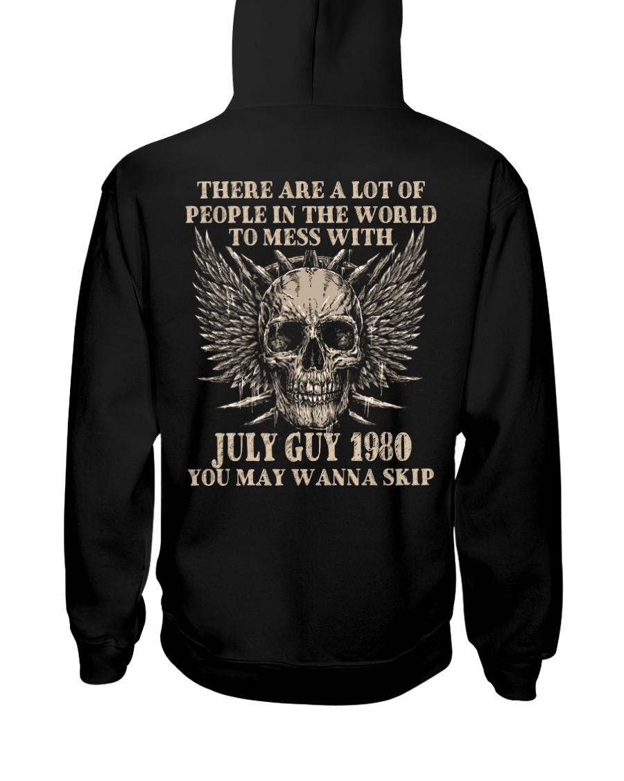 I AM A GUY 80-7 Hooded Sweatshirt