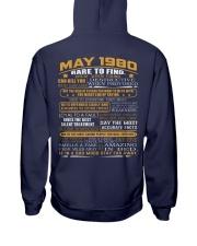 YEAR GREAT 80-5 Hooded Sweatshirt back