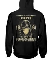 GOOD MAN 1961-6 Hooded Sweatshirt back