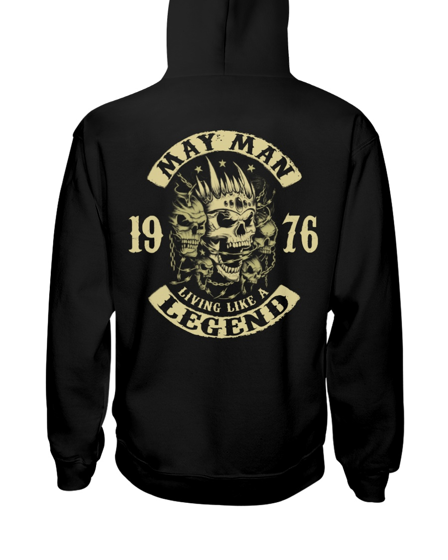 MAN 1976 05 Hooded Sweatshirt
