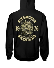 MAN 1976 05 Hooded Sweatshirt back