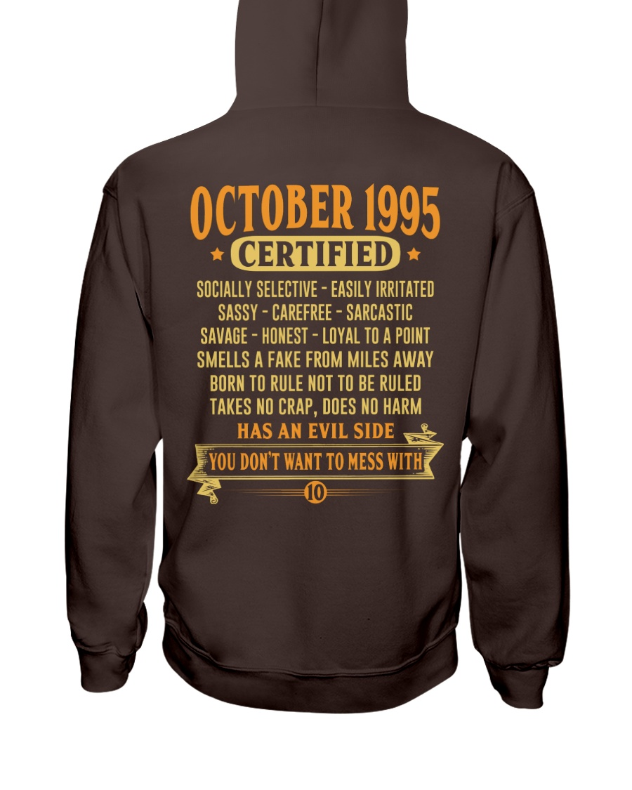MESS WITH YEAR 95-10 Hooded Sweatshirt