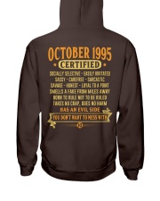 MESS WITH YEAR 95-10 Hooded Sweatshirt back