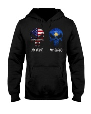 SKULL Kosovo Hooded Sweatshirt thumbnail