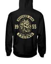 MAN 155- 11 Hooded Sweatshirt back