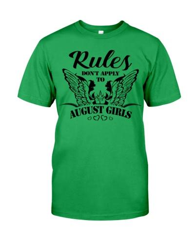 RULES - GIRLS 08