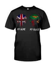 Home United Kingdom - Blood Zambia Classic T-Shirt front