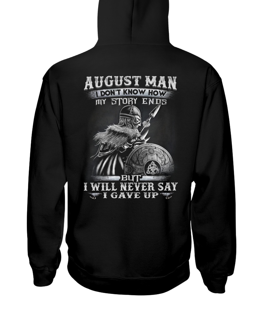 GAVE UP 8 Hooded Sweatshirt