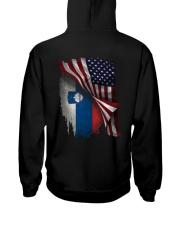 Flag-Slovenia Hooded Sweatshirt back