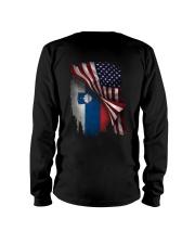 Flag-Slovenia Long Sleeve Tee thumbnail