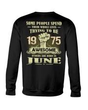 Be Awesome 1975- 6 Crewneck Sweatshirt thumbnail