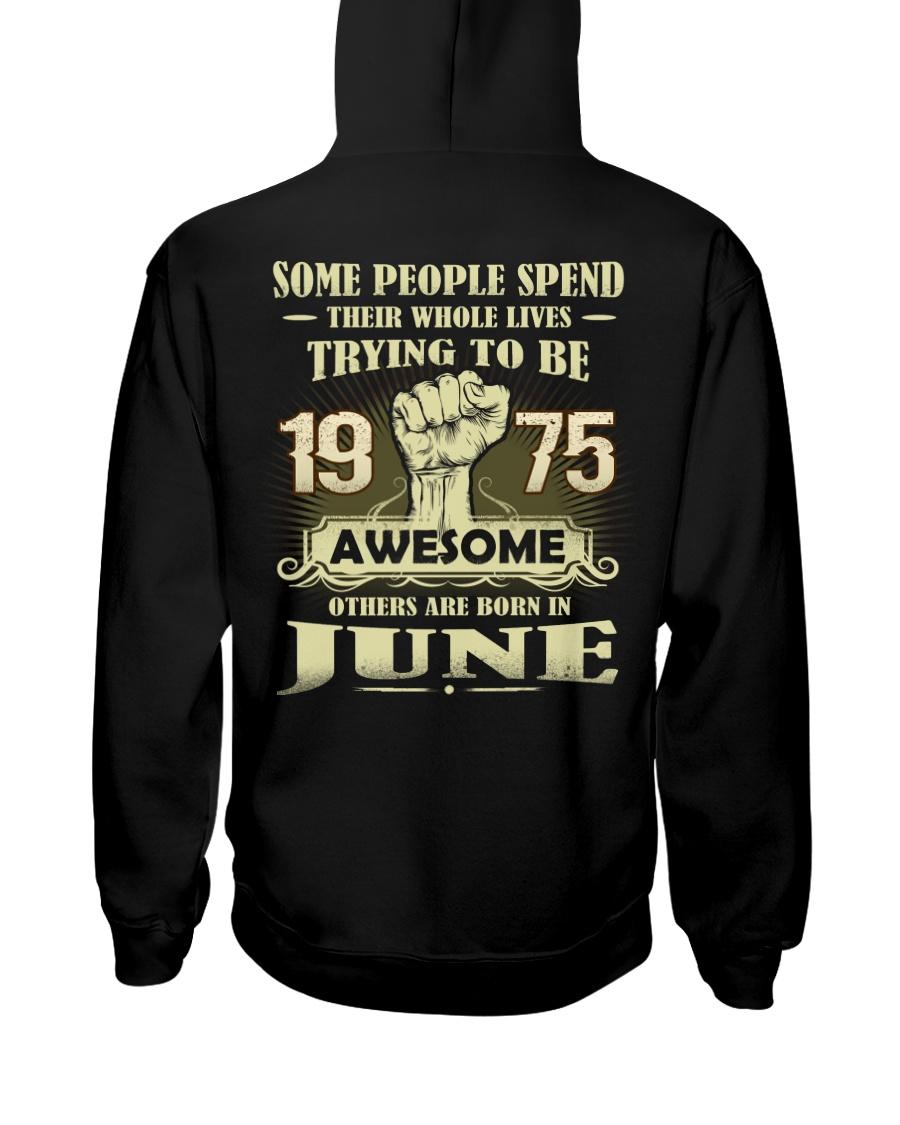 Be Awesome 1975- 6 Hooded Sweatshirt