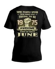 Be Awesome 1975- 6 V-Neck T-Shirt thumbnail
