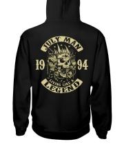MAN 1994- 7 Hooded Sweatshirt back