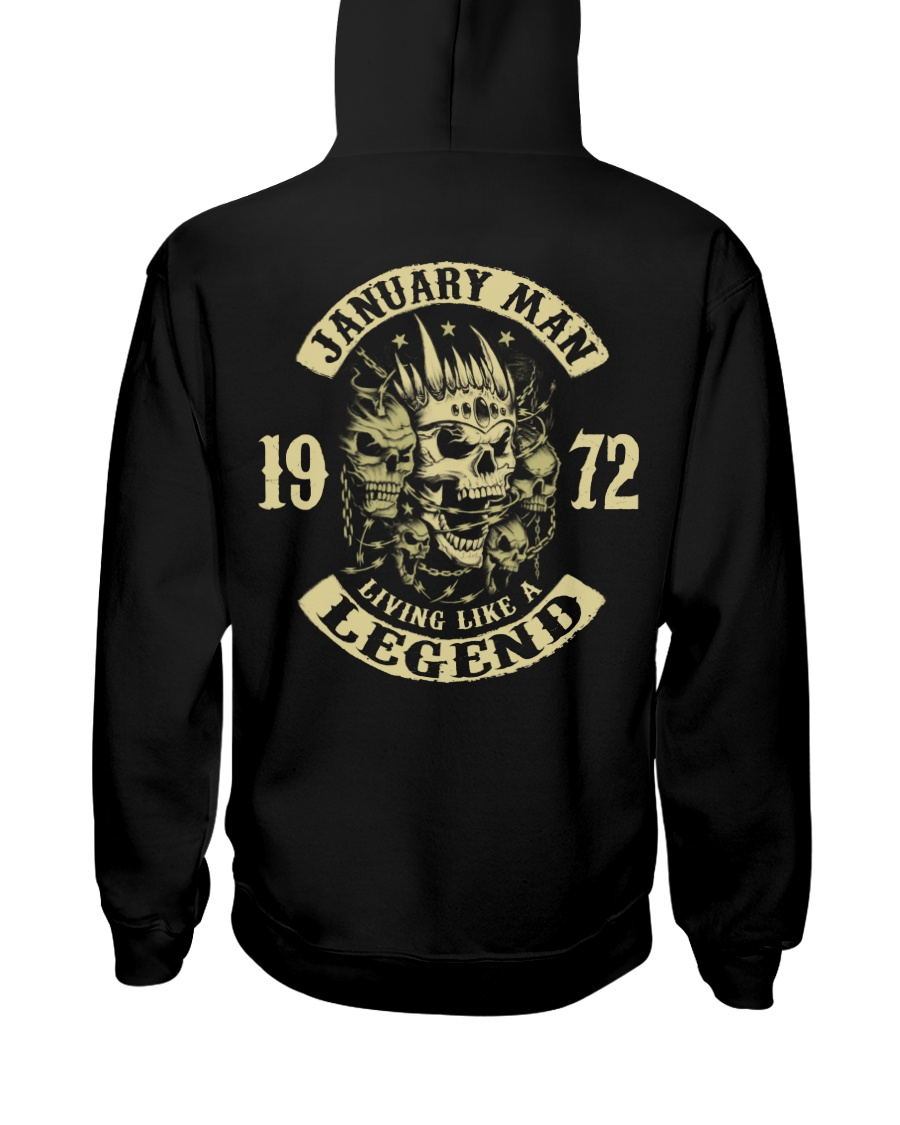 MAN 1972 01 Hooded Sweatshirt