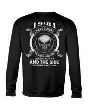 3 SIDE YEAR 81 Crewneck Sweatshirt thumbnail