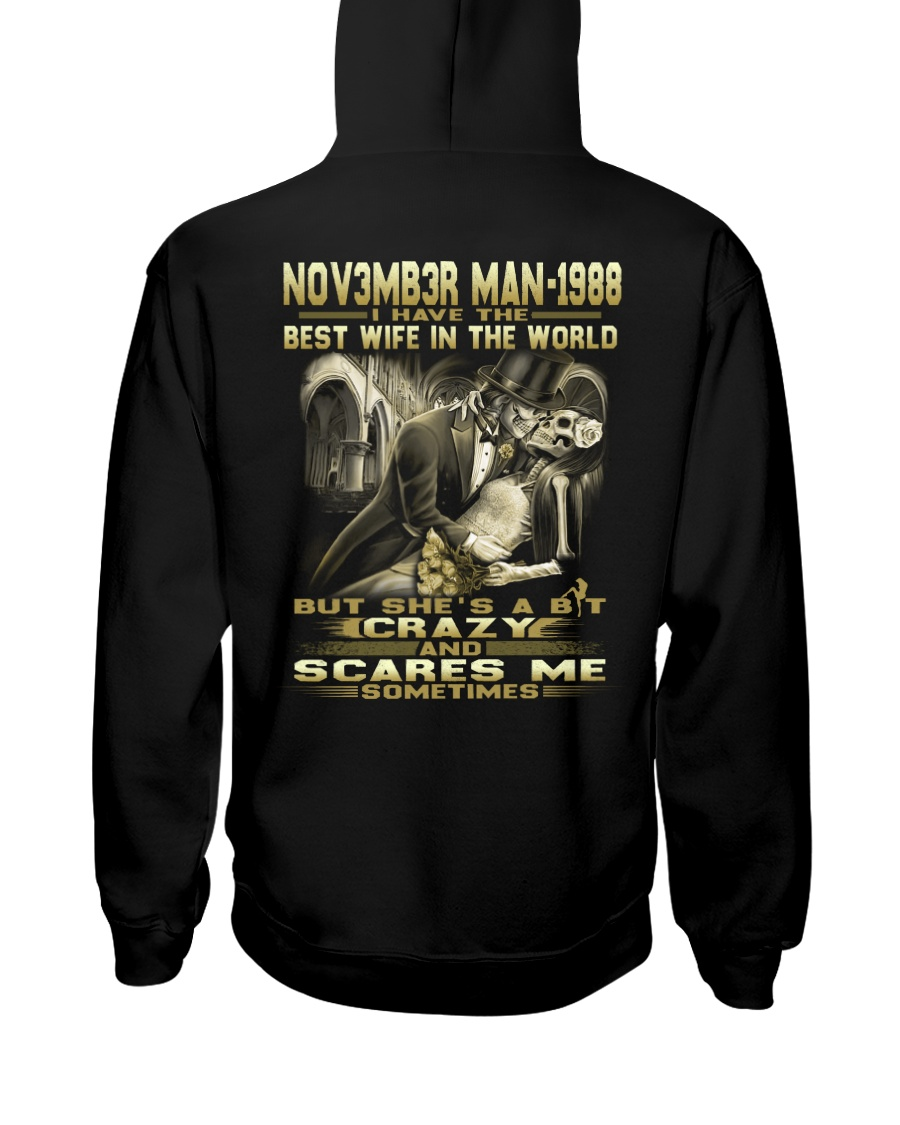 MAN THE WORLD 88-11 Hooded Sweatshirt