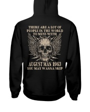 I AM A GUY 63-8 Hooded Sweatshirt back