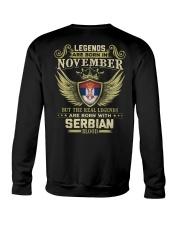 Legends - Serbian 011 Crewneck Sweatshirt thumbnail