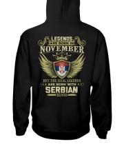 Legends - Serbian 011 Hooded Sweatshirt thumbnail