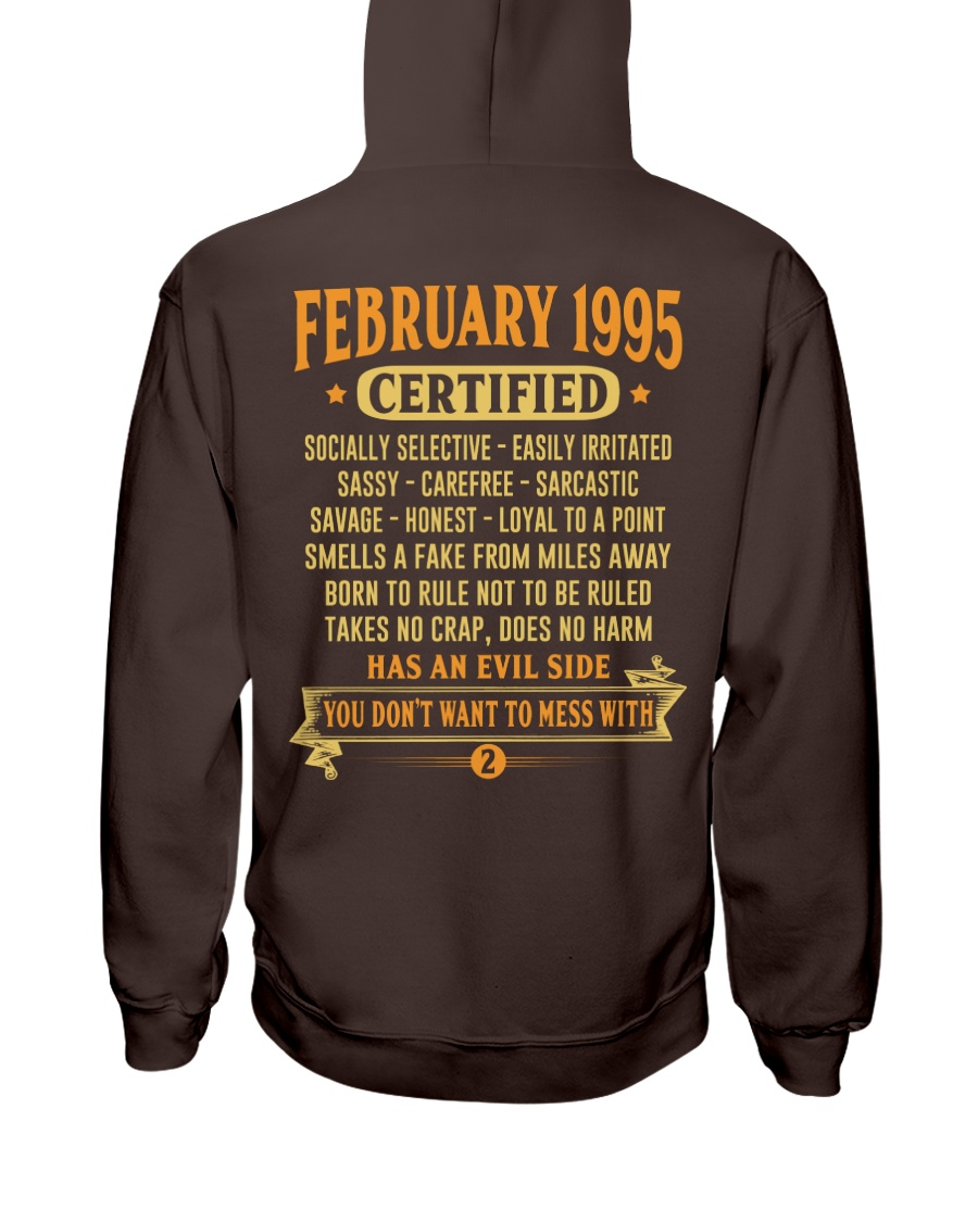 MESS WITH YEAR 95-2 Hooded Sweatshirt