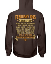 MESS WITH YEAR 95-2 Hooded Sweatshirt back