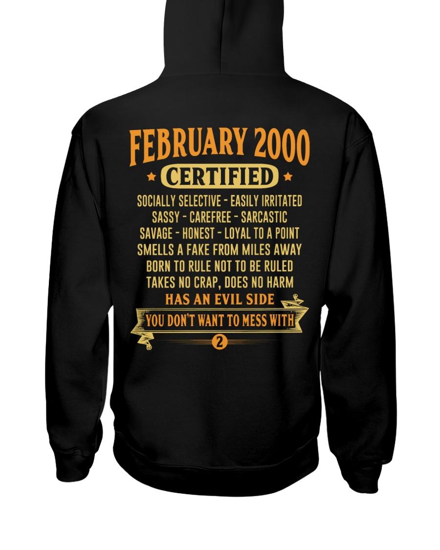 MESS WITH YEAR 00-2 Hooded Sweatshirt
