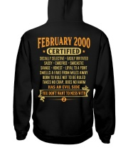 MESS WITH YEAR 00-2 Hooded Sweatshirt back