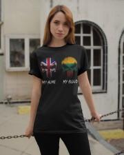 Home United Kingdom - Blood Lithuania Classic T-Shirt apparel-classic-tshirt-lifestyle-19