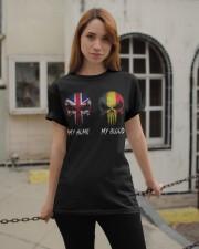 Home United Kingdom - Blood Belgium Classic T-Shirt apparel-classic-tshirt-lifestyle-19