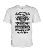 My Life Ger V-Neck T-Shirt thumbnail