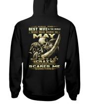 BEST WIFE 5 Hooded Sweatshirt back