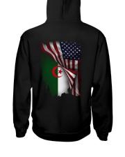 Flag-America-Algeria Hooded Sweatshirt back